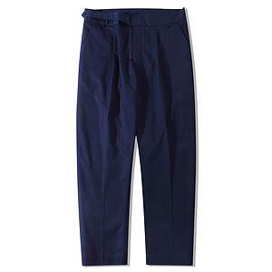 STANDARDTYPES Side Button Trouser Navy