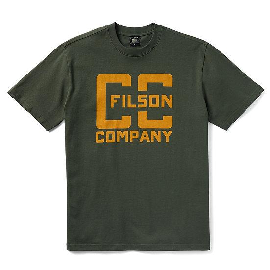 FILSON Pioneer Graphic T-Shirt Dark Forest