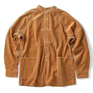 JAPAN BLUE JEANS 8W Corduroy Stand Collar Shirt Jacket