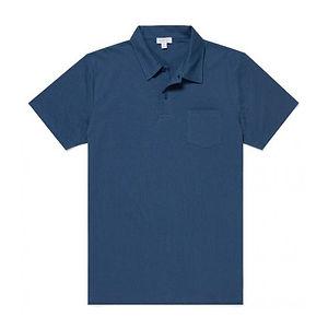 SUNSPEL Riviera Polo Shirt Smoke Blue