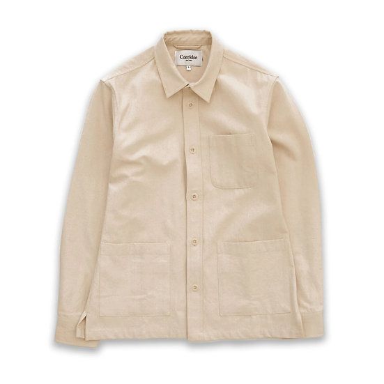 CORRIDOR Natural Canvas Overshirt SS20