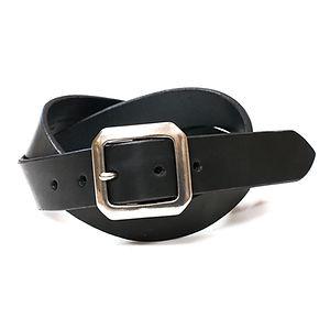 ART BROWN Tochigi Leather Belt Black