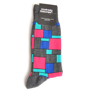 Unsimply Stitched Century Tile Socks