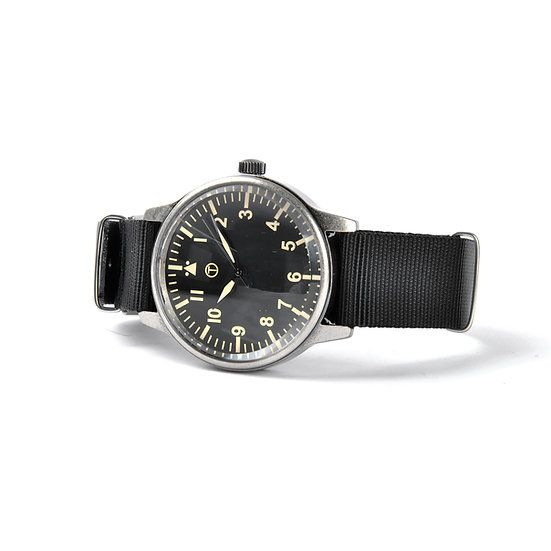 MWC Classic Retro Design Military Watch with 12 Hour Dial