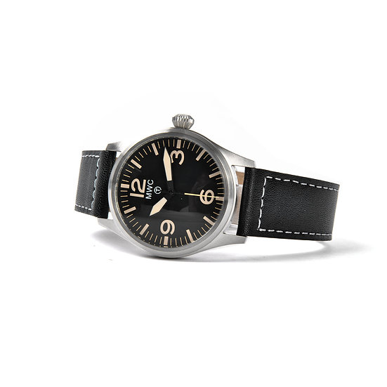 MWC Classic 40mm Stainless Steel Aviator Watch with Hybrid Movement
