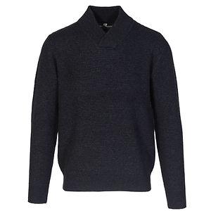 SCHOTT Athletic V-Neck Sweater