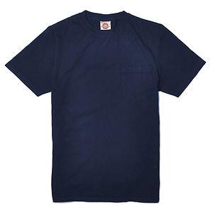 GOODWEAR Modern Fit Crew Neck Pocket Tee Shirt Navy