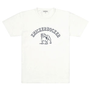 KNICKERBOCKER Varsity T-Shirt White