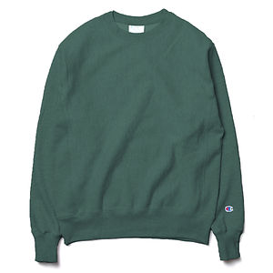 CHAMPION Reverse Weave Sweatshirt Green