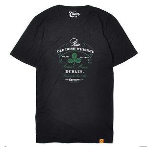 TONN Dublin Distillery T-Shirt Black