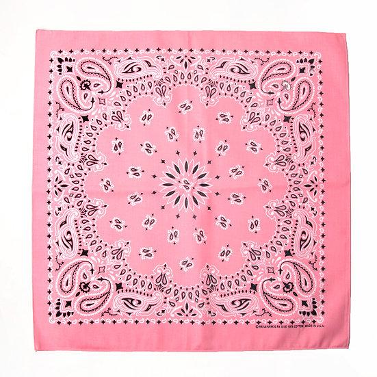 HAV A HANK Traditional Paisleys Bandannas Pink