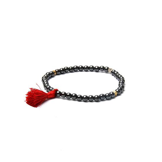 BRANCO Tassel Bracelet Black