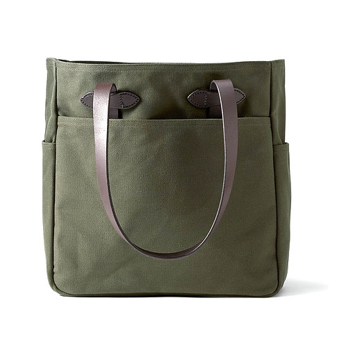 Filson RUGGED TWILL TOTE BAG Otter Green