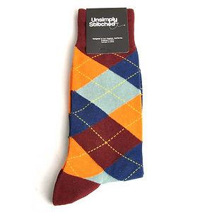 Unsimply Stitched Argyle Socks