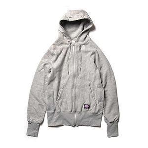 GOODWEAR S-Curve Full Zip Hoodie in Looped French Terry Oxford