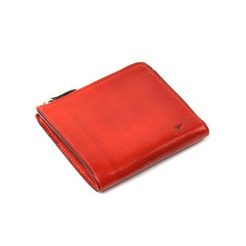 IL BUSSETTO Folding Zipped Wallet