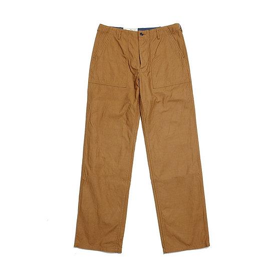 BURGUS PLUS 425-51 Back Satin Fatigue Pants Khaki