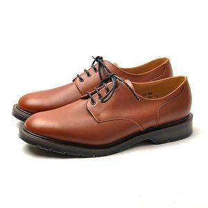 SOLOVAIR 4 Eye Gibson Shoes Brown