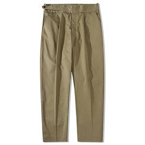 STANDARDTYPES Side Button Trouser Khaki