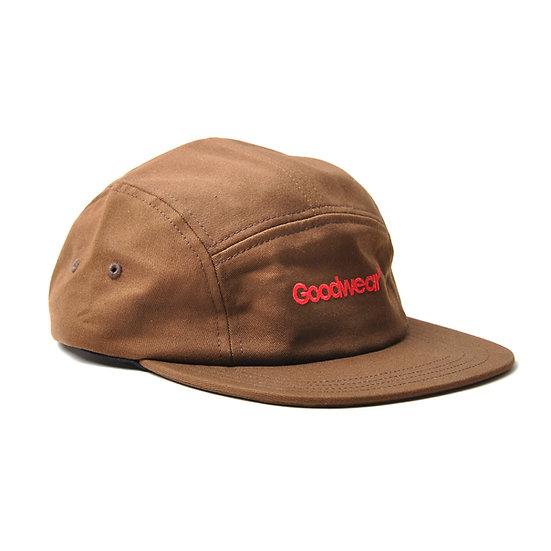 GOODWEAR Five Panel Camper Style Hat Nutmeg