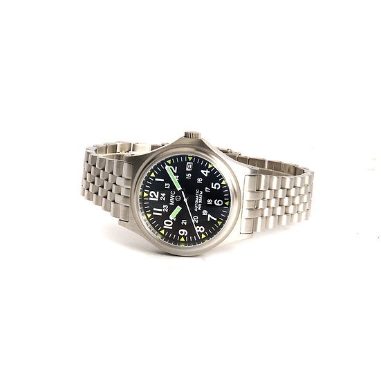 MWC G10 Automatic 300m / 1000ft Water resistant 12/24 Hour Steel Military Watch