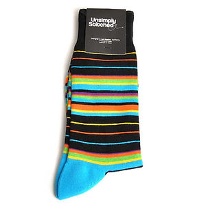 Unsimply Stitched Insane Stripe Socks