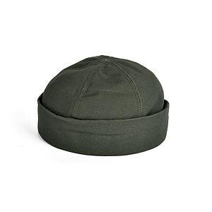 New York Hat Canvas Thug Olive