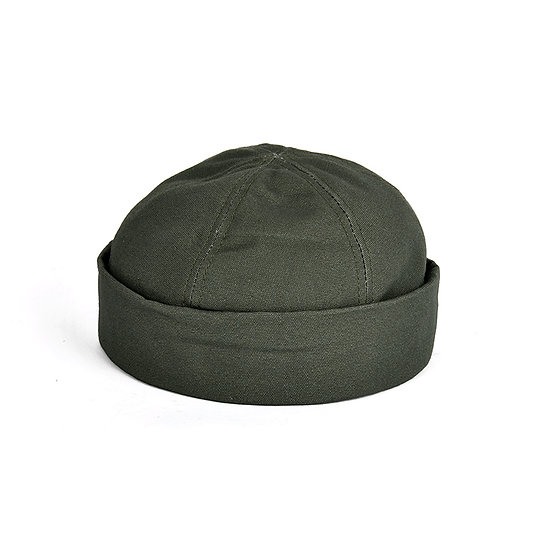 New York Hat Canvas Thug Olive