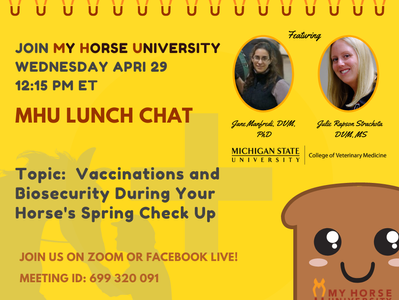 Vaccinations and Biosecurity During Your Horse's Spring Check Up