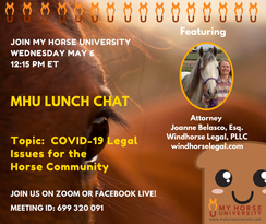 Covid-19 Legal Issues for the Horse Community