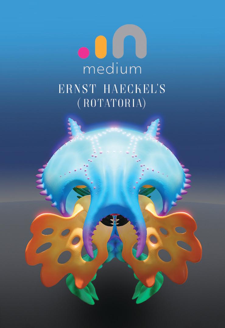Earnst Haeckel 3D Series 001