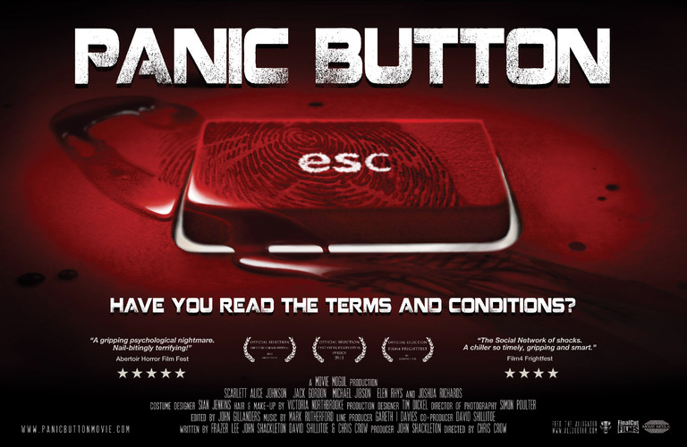 Panic Button alt poster design.