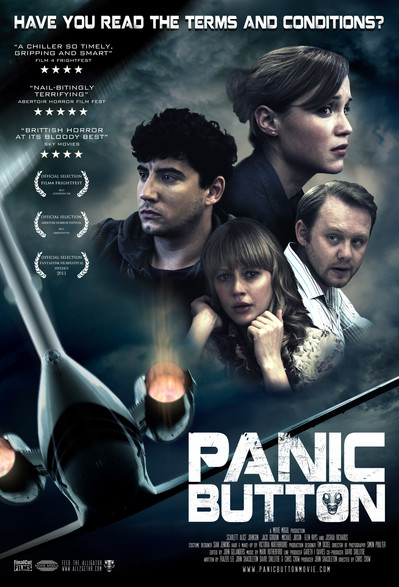 Panic Button Poster / DVD design.