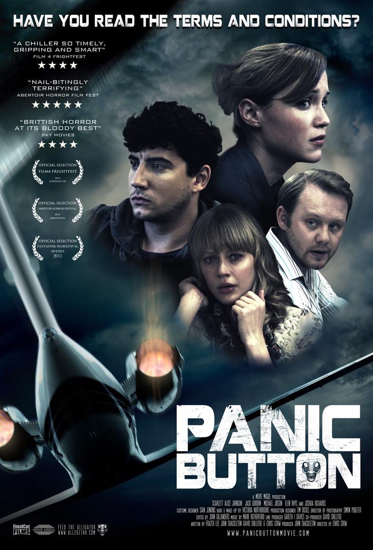 Panic Button Poster / DVD design.