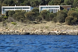 house from waterfront