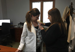 Physician Assistant Irina pinned by Laurie