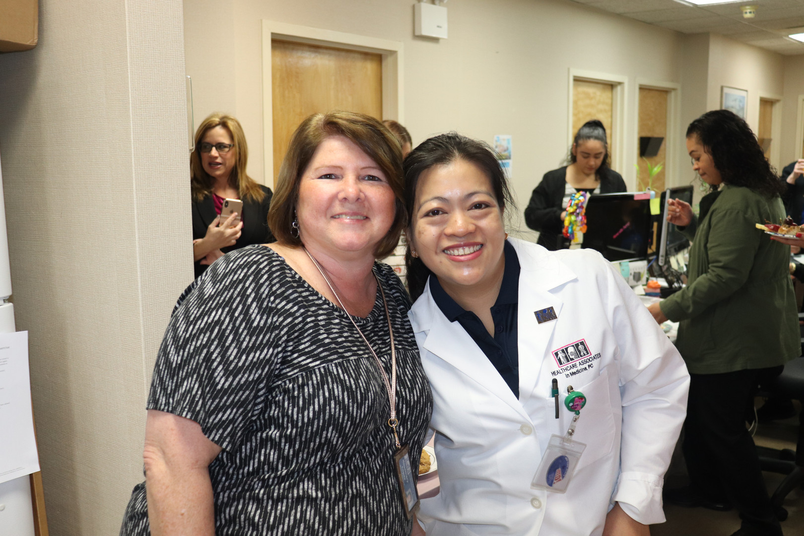 Clinical Supervisor of Neuroscience Rosie & Physical Therapist Bernadette