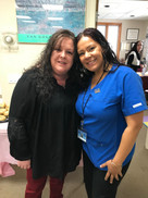 2018 Director of Neuroscience Clinical Services, Michelle J & Receptionist, Vanessa