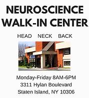 Neurology, Pain Management Walk-In Center