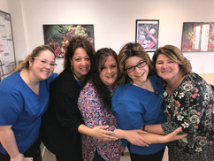 Michelle J. (in the middle) & Neuroscience Team