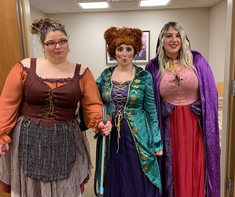 Orthopedic Supervisors as Sanderson Sisters from Hocus Pocus