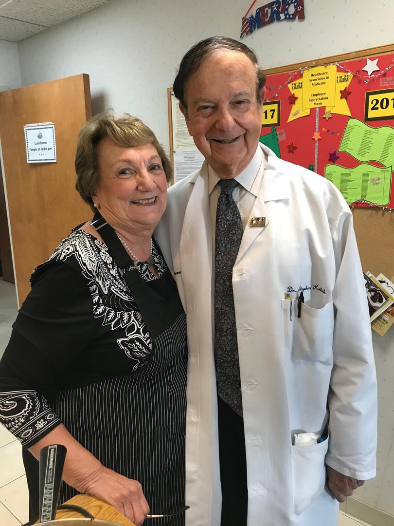 Dr. Kulick & Kathy T.