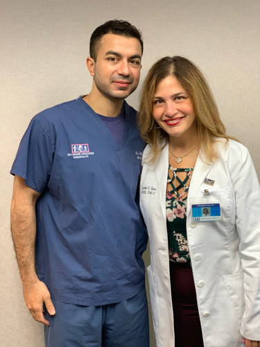 Dr. Mahajan & Physician Assistant, Michelle Twito