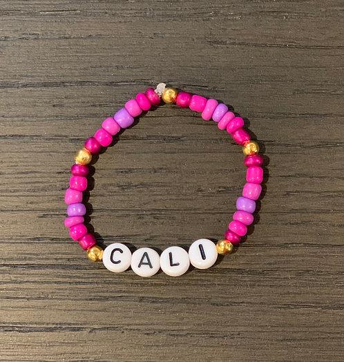 Purple Personalized Bracelet