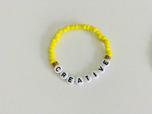 Yellow Creative Bracelet