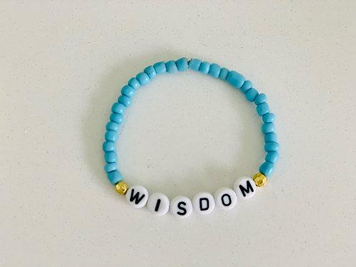 Blue Wisdom Bracelet