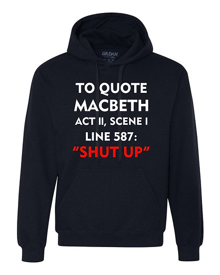 TO QUOTE MACBETH