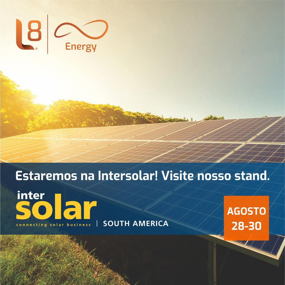 Estaremos na Intersolar 2018!