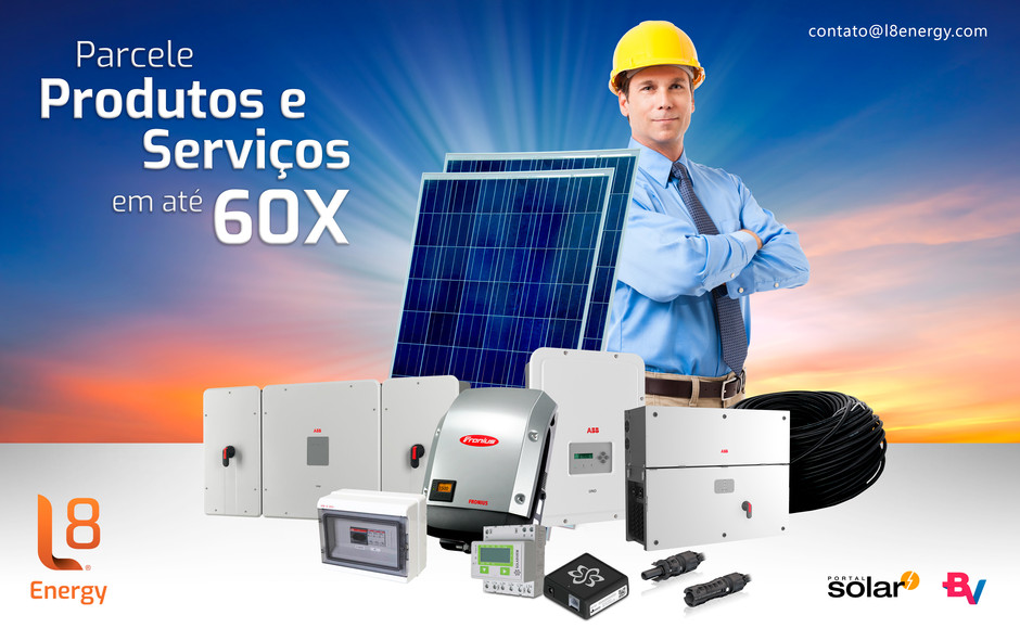 L8 Energy - Parcele Seus Equipamentos E Serviços Em Até 60x!