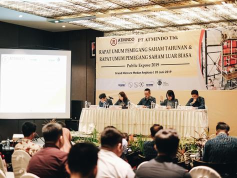 Rapat Umum Pemegang Saham Tahunan & Luar Biasa PT. ATMINDO Tbk